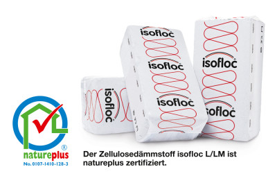 isofloc cellulose isolatie Nature plus