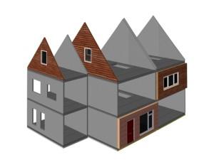 duboplus duurzaam bouwen gevel