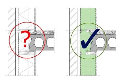 duboplus duurzaam bouwen en isoleren verdiepingsvloer detail